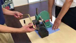 微小球反発硬さ試験機で金属の加工硬化を評価してみた