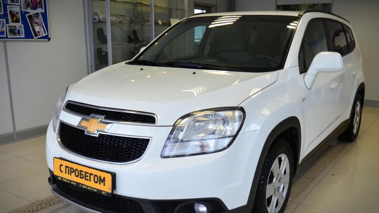 Chevrolet Orlando с пробегом 2012 | У Сервис+ - YouTube