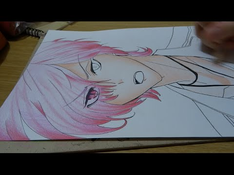 Drawing Subaru Sakamaki From Diabolik Lovers Youtube