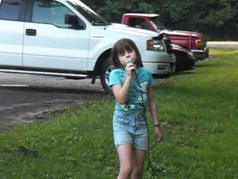 My 9 year old daughter sings