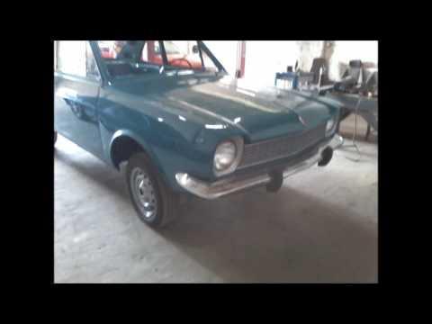 Restauração Ford Corcel I 1977 - Turquesa Laguna