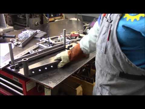Swag Off Road 20 ton finger brake press assembly