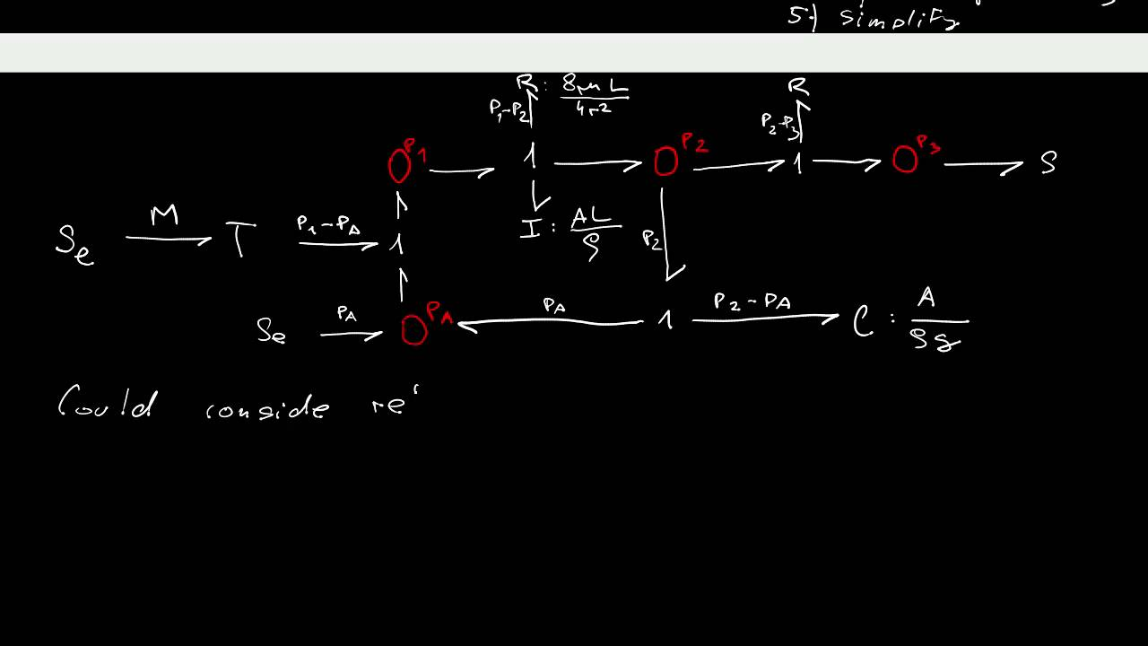 32 Building Simple Bond Graphs Of Mechanical Electrical And Hydraulic Systems Diagram Circuit Basic