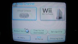 Rare Footage Of The Wii Shop Channel Shutting Down (6:00am Uk Time, Rip Wii Shop Channel)