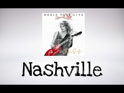 Taylor Swift - Nashville (Speak Now World Tour Live) DVD BONUS (Audio Official)