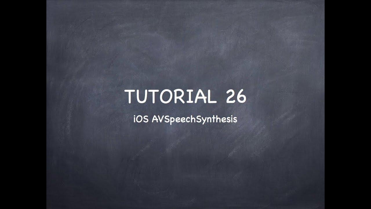 iOS Tutorial 26