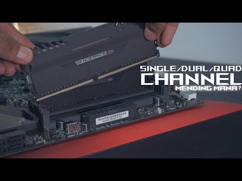 Apa itu Dual Channel/Quad Channel Memory? - #KepoTeknologi