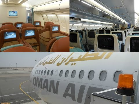 "Oman Air │ Inflight experience to Frankfurt - ""Muscat out of Fuel"""
