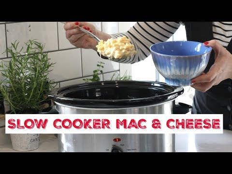 Slow Cooker Mac & Cheese | Family Food Recipes