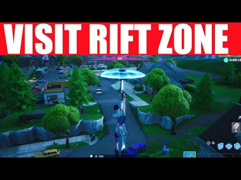 Visit A Rift Zone Location - Fortnite Worlds Collide Challenge (Search Chests Rift Zones)