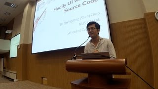 Modify UI with/out Source Code by Prof Zhao