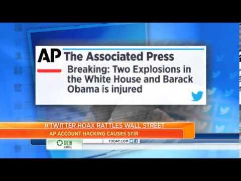Secret Service monitoring AP Twitter hoax