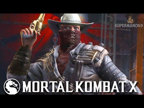 "ERRON BLACK MORTAL KOMBAT 11 CELEBRATION! - Mortal Kombat X: ""Erron Black"" Gameplay thumbnail"