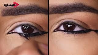 طريقة وضع مكياج عيون قوي