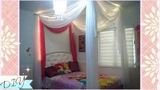 Gambar cover Como hacer un canopy con cortinas para la cama