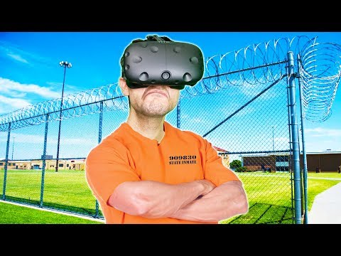 ESCAPING FROM THE MOST DIFFICULT PRISON EVER MADE IN VR! - Headmaster VR HTC VIVE Gameplay