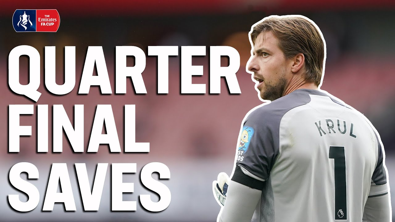 Best Quarter-Final Saves 🧤 Krul's Reflexes or Henderson's Super Save? ⛔️ | Emirates FA Cup 19/20