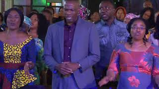 Nathaniel Bassey, Elijah Oyelade, Prospa Ochimana,at Hallelujah Festival In Abuja   Open Heavens