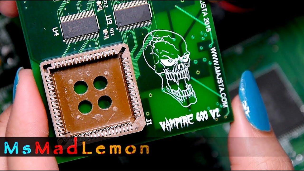 Vampire V2 Amiga 600 Part 2
