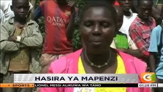 Hasira za mapenzi| mwanamke ateketeza nyumba