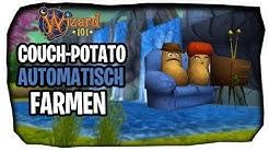 Viele Couch Potato farmen mit den diesen Trick! | Wizard101 Couch Potato [Deutsch]