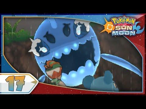 Pokémon Sun And Moon - Part 17   Lana's Island Trial! [NEW Nintendo 3DS 100% Walkthrough]
