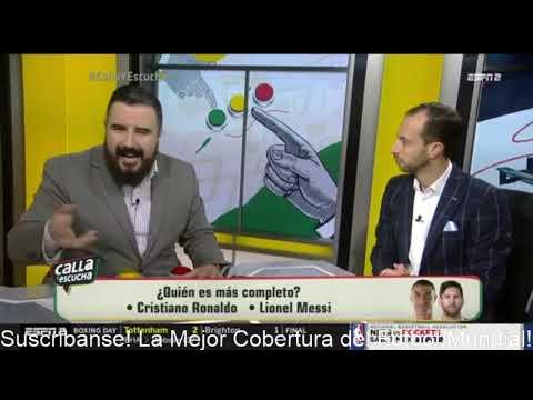 ¡CANDENTE! Quién Es MÁS COMPLETO Cristiano Ronaldo Vs Leo Messi Títulos En Selección Nacional