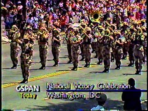 2d Marine Division Band, Victory Parade Washington,DC 1991