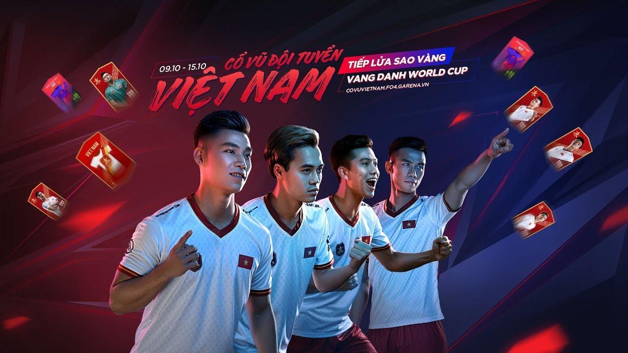 [OFFICIAL] SỰ KIỆN CỔ VŨ VIỆT NAM, TIẾP LỬA SAO VÀNG - VANG DANH WORLD CUP