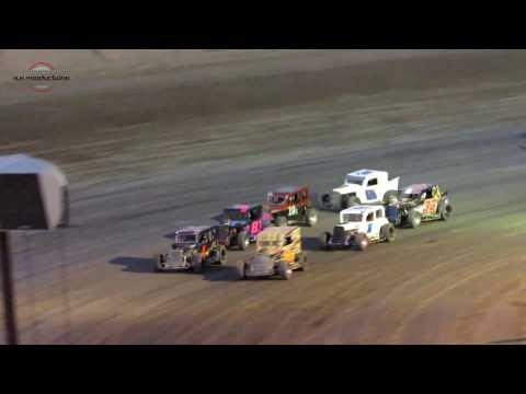 Desert Thunder Raceway Dwarf Car Heat Race 9/29/18