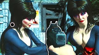 ATTACK OF THE RADIOACTIVE THING ELVIRA EASTER EGG GUIDE (How to play as Elvira CHEATCODE)
