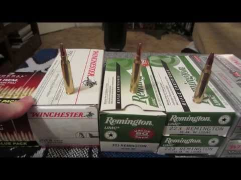 .223 AMMO: PRICE PER ROUND AT WALMART