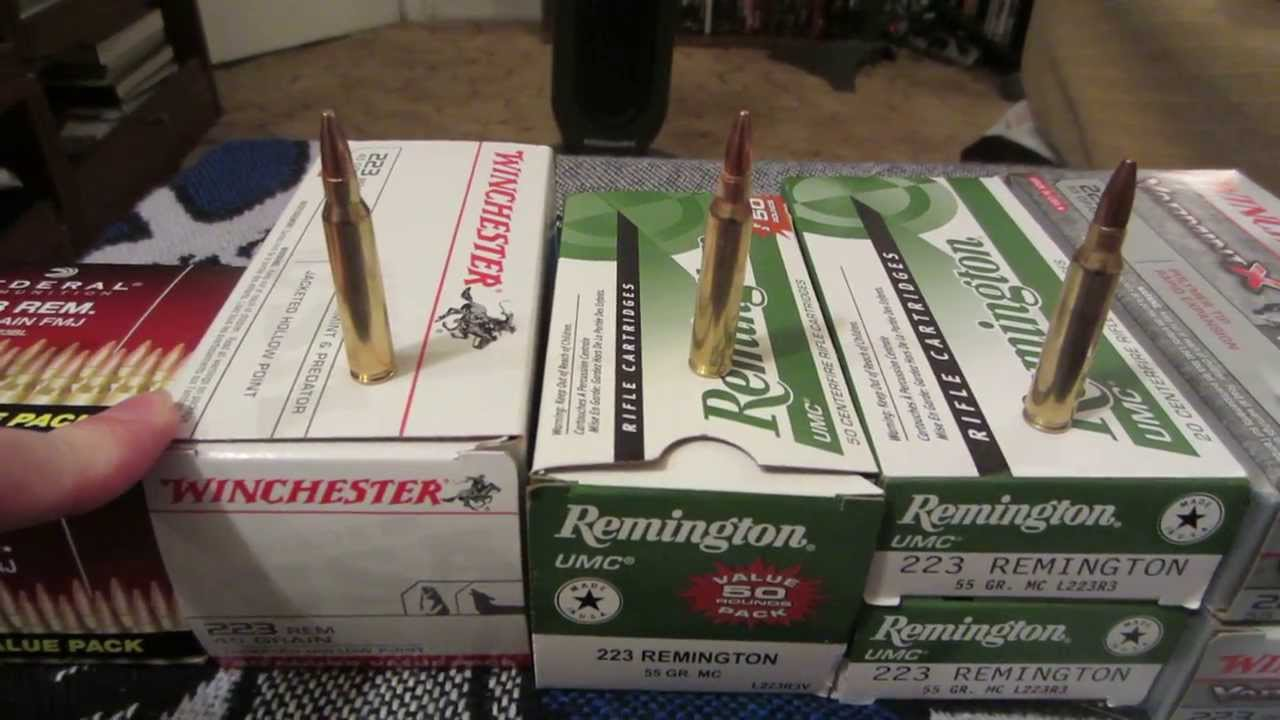 223 AMMO: PRICE PER ROUND AT WALMART | Firearm License