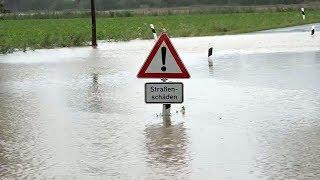 Heftige Regenfälle: Wegen Überschwemmungen droht Hildesheim die Evakuierung