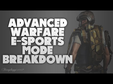 Advanced Warfare ESports Mode Breakdown