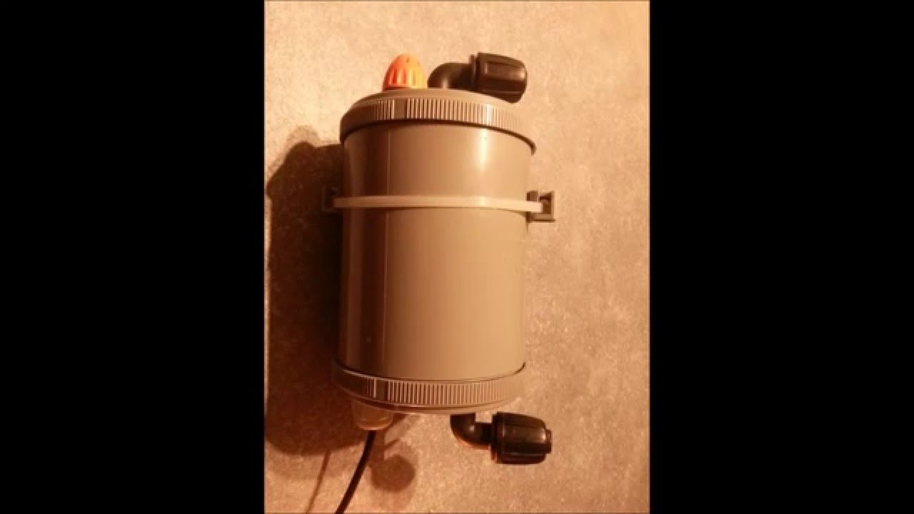Aspirateur de fond d 39 aquarium by bizaz youtube for Aspirateur fond aquarium