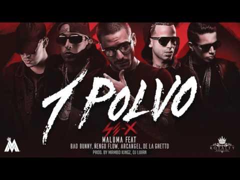 Maluma   Un Polvo ft  Bad Bunny, Arcángel, Ñengo Flow, De La Ghetto