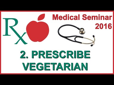 Vegfest Medical Seminar 2016 - 2. Prescribe Vegetarian Campaign