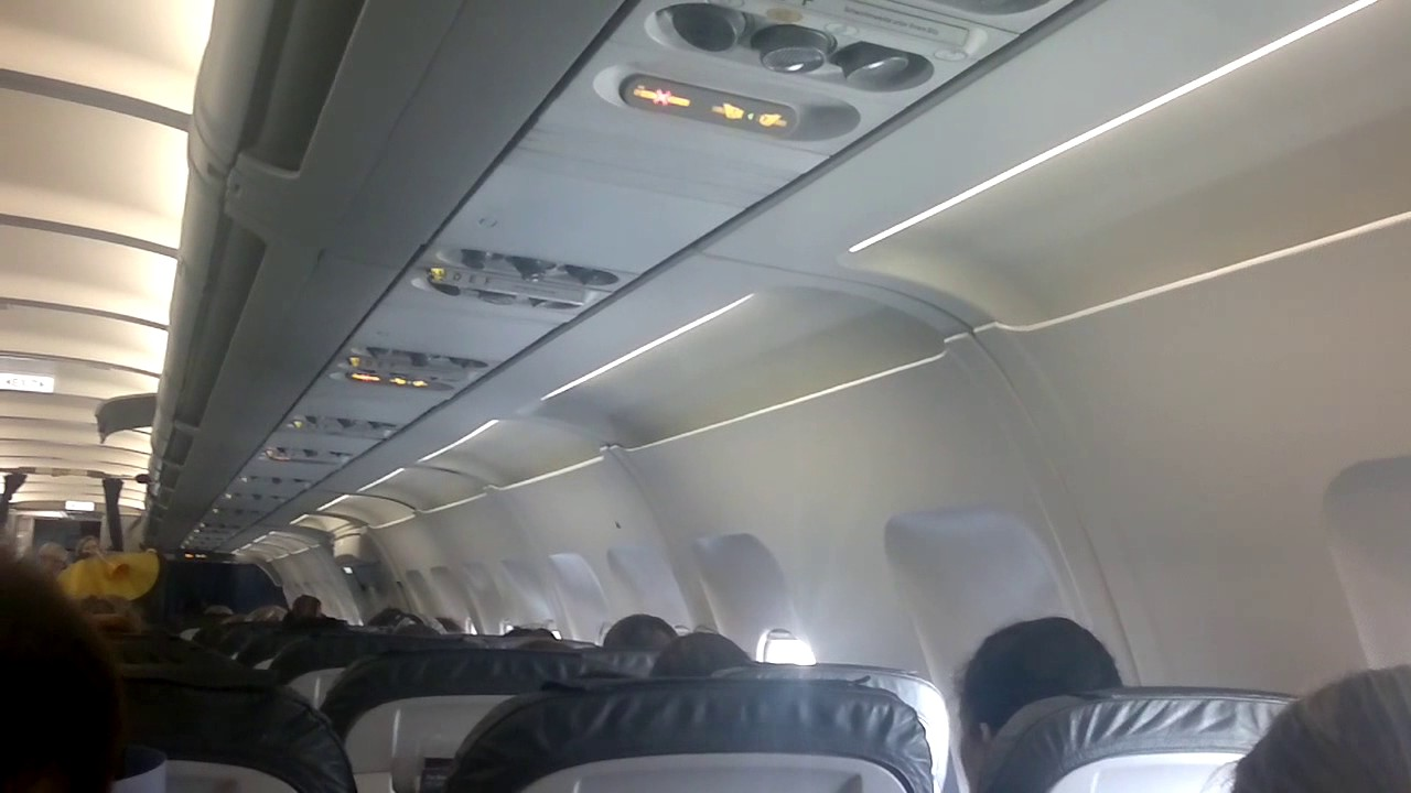 vapor coming from lufthansa plane air conditioner at malta youtube