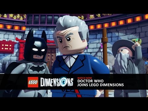 Official SDCC Video: Doctor Who Joins LEGO Dimensions