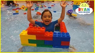 LegoLand Hotel Indoor Swimming Pool Kids playtime!!!