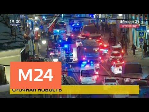 Вцентре Москвы эвакуировали кафе