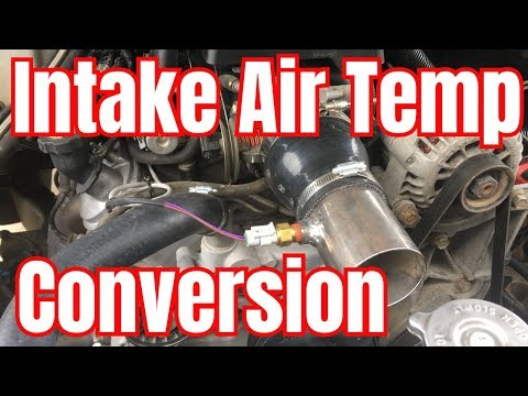 IAT Conversion (Intake Air Temperature Sensor) from 5-wire MAF/IAT to 2-wire IAT