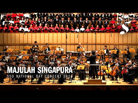 Singapore National Anthem- Majulah Singapura (ZUBIR SAID, arr YEW TIEN)