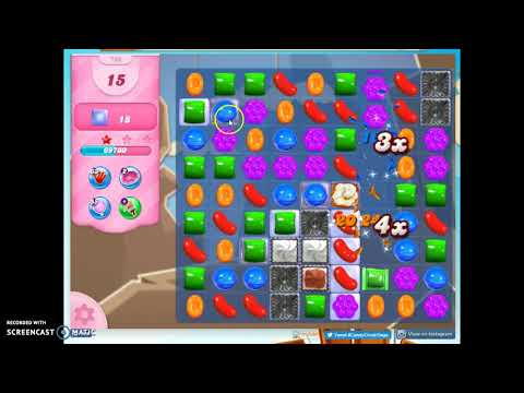 Candy Crush Level 786 Audio Talkthrough, 3 Stars 0 Boosters