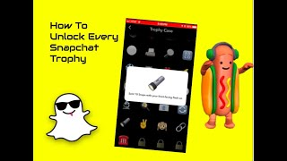 Every Snapchat Trophy March 2018