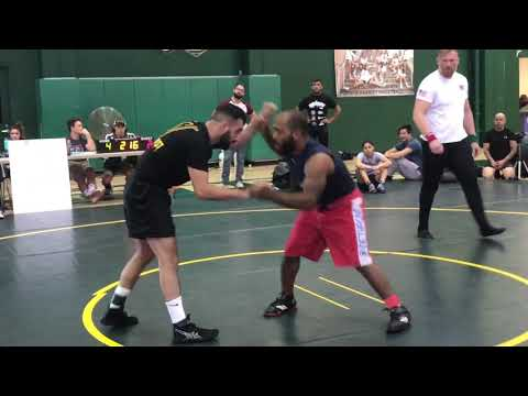 ACWA catch wrestling Ferdaws Ashrati vs Taylor Alfaro