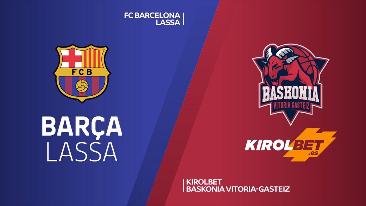 ÖZET | FC Barcelona Lassa - Baskonia Vitoria-Gasteiz Videosu