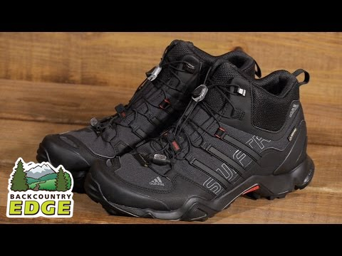 6153b79a8 adidas Outdoor Men s Terrex Swift R Mid GTX Hiking Boot - YouTube