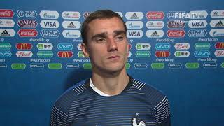 Antoine GRIEZMAN - Post Match Interview - Match 61